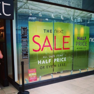 The Next store in Coventry City Centre :P