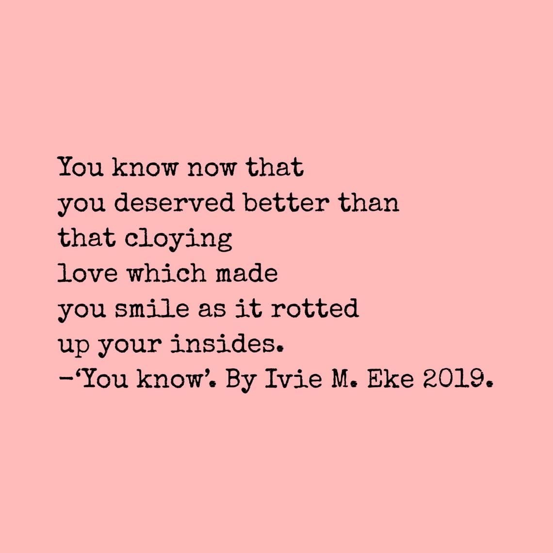 Poem by Nigerian Writer.